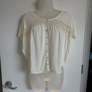 Short Sleeved Button up T